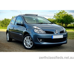 Renault clio 2016 R.S.200. sports, blue