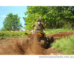 250cc Sports Raptar ATV QUAD Yellow