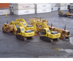 Construction equipment for sale in Perth